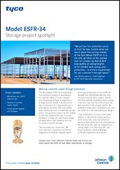 Model ESFR-34 <br />Storage Project Spotlight