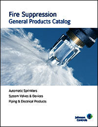 Fire Suppression<br /> General Products Catalog