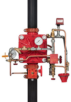 DV-5A Automatic Water Control Valve Remote-Resetting, Pressure-Reducing